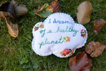Be a change-maker not just a world-worrier. - Craftivist Collective