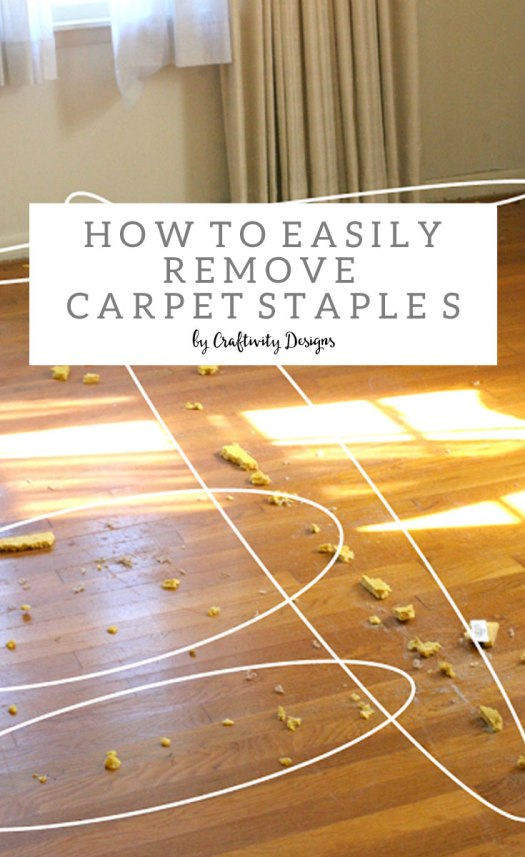 Easiest Way To Remove Carpet Staples From Srs Carpet
