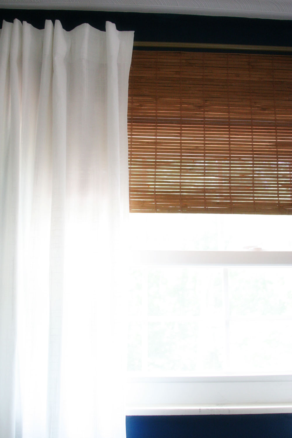 How To Make Cheap Diy Bamboo Blinds With A Simple Hack