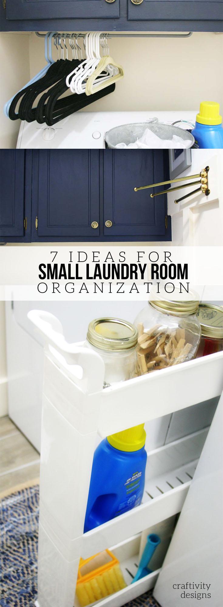 7 Tiny Laundry Room Storage Ideas (that are cheap ... on Small Laundry Room Organization Ideas  id=73111