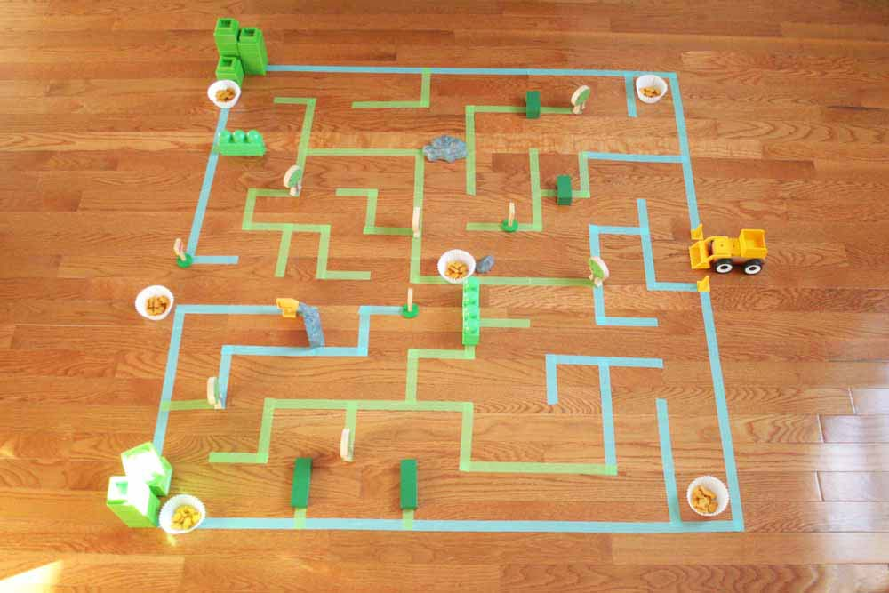 How To Make A Giant Floor Maze For Kids Craftivity Designs