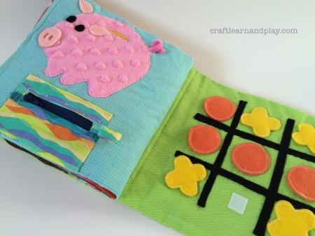 quiet book piggy bank