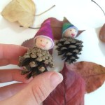 How To Make Adorable Nature Pinecone Gnomes For Kids