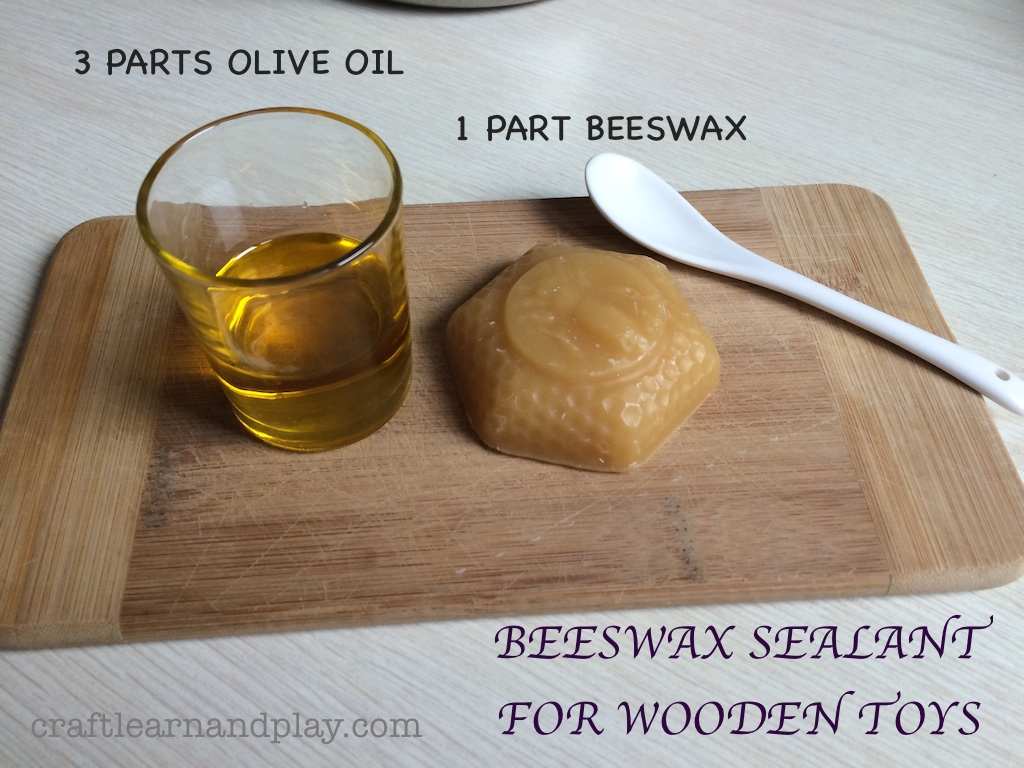 How to make natural and safe beeswax sealant for wooden toys - Diy uses for olive oil help from nature ...