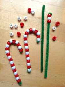 DIY Beaded Candy Cane