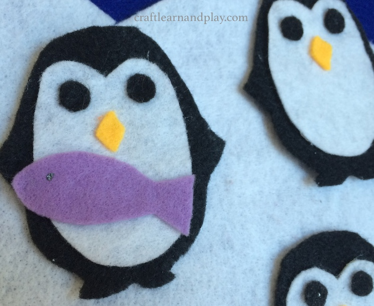 Felt Board Story about Baby Penguins
