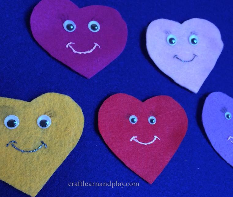 Valentine Felt Board Story