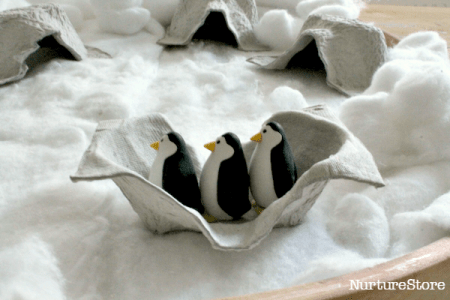 penguin-small-world-play, pretend play