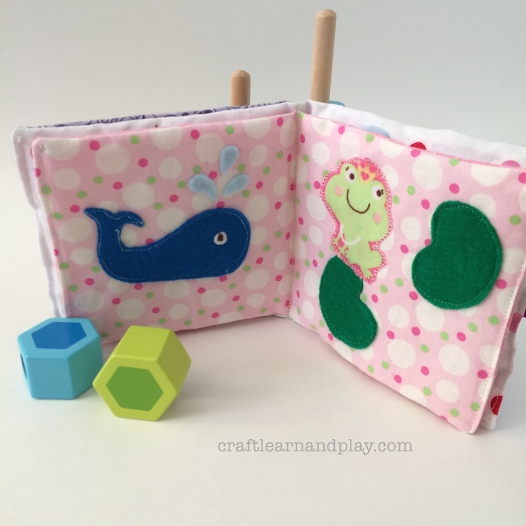 Baby Soft Cloth Book
