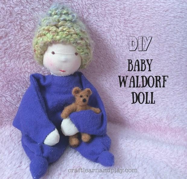 DIY Baby Waldorf Doll