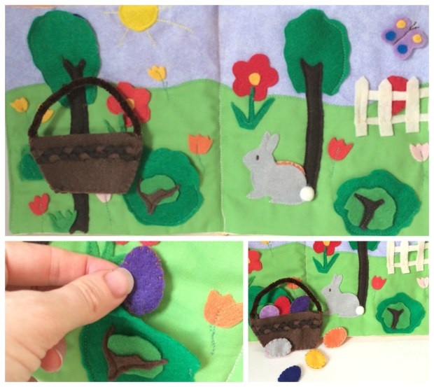 Easter Egg Hunt Quiet Book