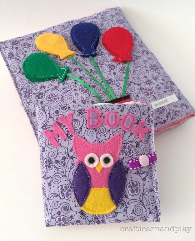 Soft Baby Sensory Book