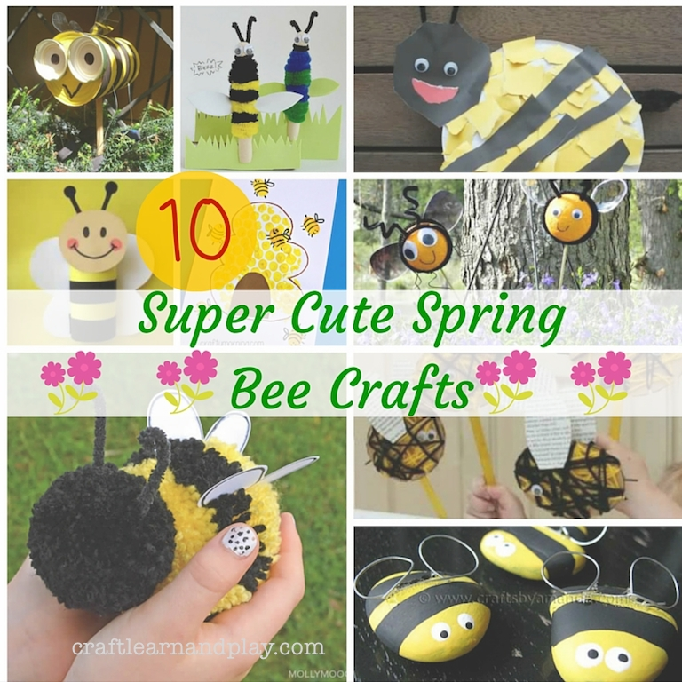 10-super-cute-spring-bee-crafts