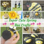 Welcome Spring With 10 Super Easy Bee Craft Ideas For Kids