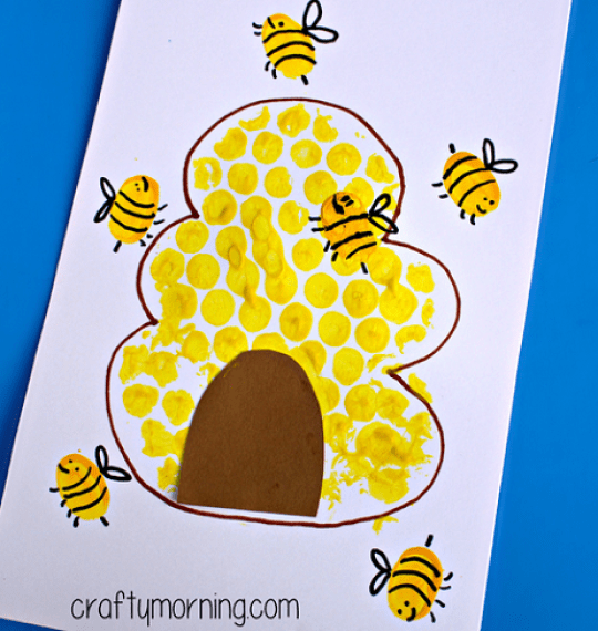 bumble-bee-fingerprint-craft-