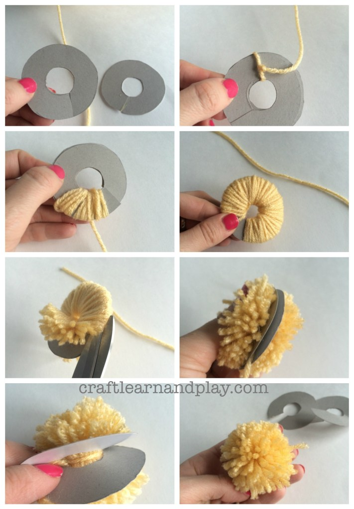how to make pom pom