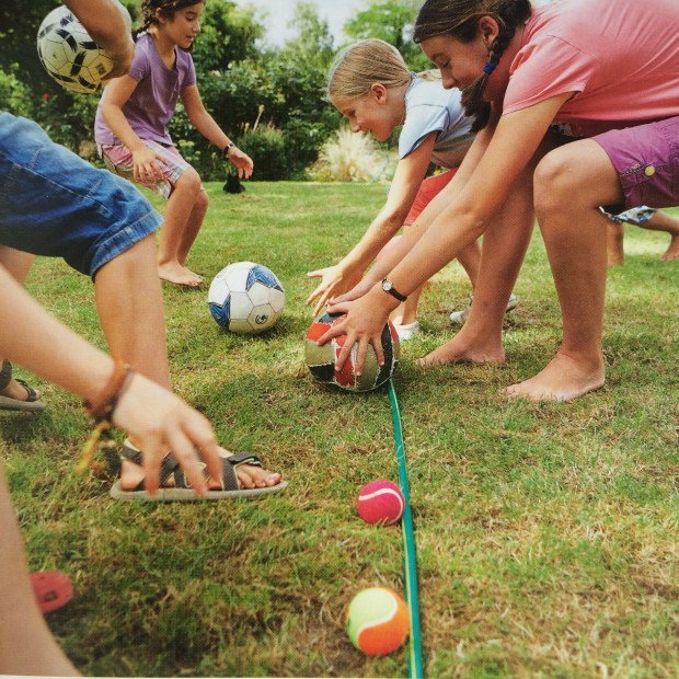 outdoor play ides for kids