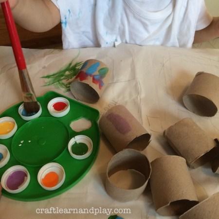 DIY up-ycled palette for kids