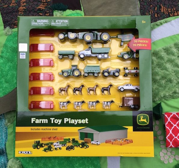 John Deere Farm Toy Set