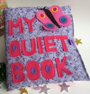 Toddler Quiet Book Activity book