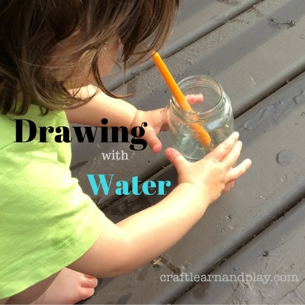 Drawing with water