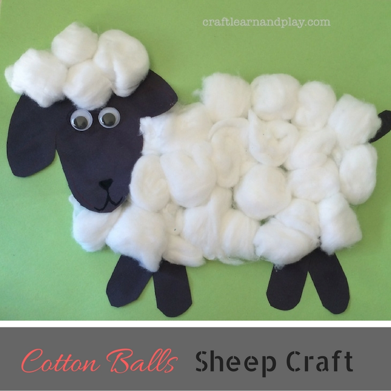 simple-cotton-balls-sheep-craft-for-kids