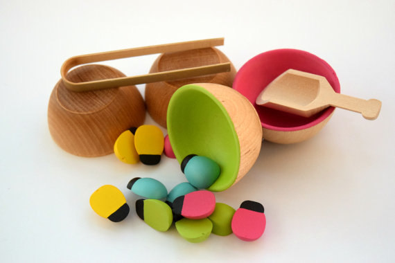 wooden-montessori-sorting-toy from wooden toys