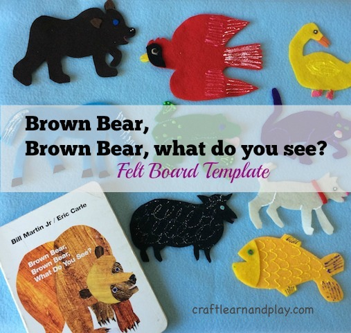 photo relating to Printable Flannel Board Stories identified as Brown undergo, brown undergo what do yourself watch - Felt Board Template