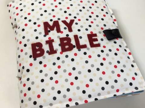 Bible quiet book sewing pattern and tutorial