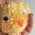 Easy steps for cute DIY Pom Pom Chicks