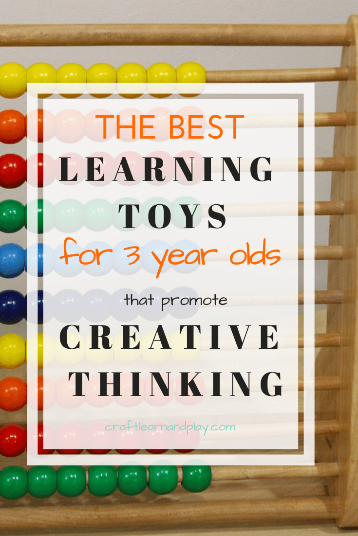 Gifts for kids and learning toys for 3 year olds that promote creative thinking