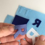 One Of The Easiest Ways How To Make Felt Iron On Letters