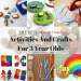 crafts for 3 year olds