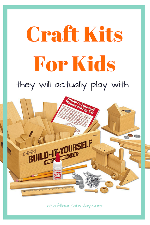 List of the best craft kits for kids that are perfect for a road trips, playdate ideas, rainy day activities, art projects for kids, and science experiments. These crafts for kids would make great gifts and give ideas for creative play. Click to find out how my big Christmas gift failed and made me make this useful list as a shopping guide.