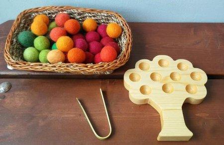 montesori sorting fall preschool