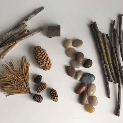 nature objects for kids arts and crafts