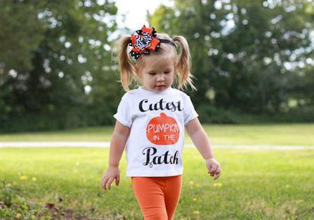 pumpkin outfit cutest pumpkin