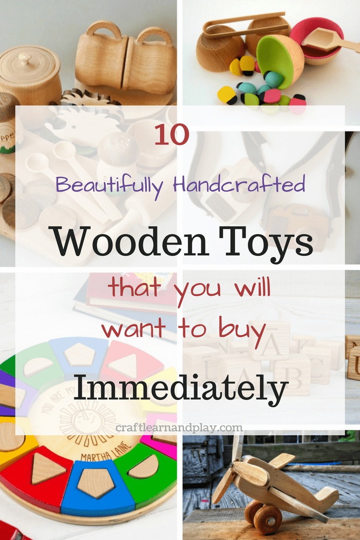 handcrafted wooden toys