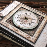 "Scrapbooking album ""Time Machine"""
