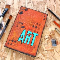 Χειροποίητο art- junk journal για το Sketchbook revival 2020