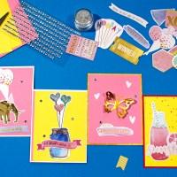Cardmaking for fun/ Φτιάχνω κάρτες για κέφι