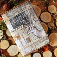"Scrapbooking mini-album ""Forest"""