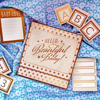 "Scrapbooking album ""Hello beautiful baby!"""