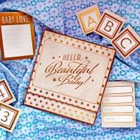 """Scrapbooking album """"Hello beautiful baby!"""""""