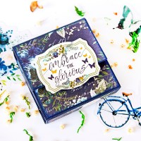 "Scrapbooking mini-album ""Embrace the glorious"""