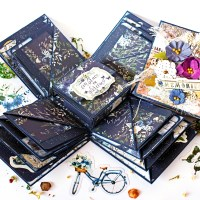 "Scrapbooking explosion box ""Memories"""