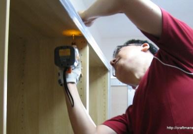 わずか5畳の部屋にワードローブを組み立てよう!IKEAのPAXの組み立てポイント!