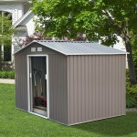 9x6 garden shed, outdoor metal sheds