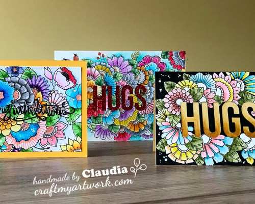 Card_hand_drawn_doodle_flowers_watercolored_3_versions