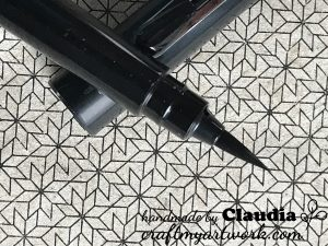 pentel pocket brush black tip
